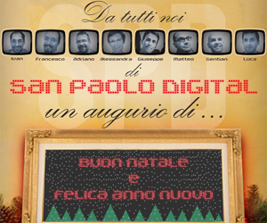 Auguri da San Paolo Digital